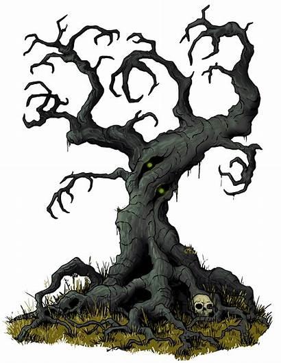 Evil Tree Fantasy Clipart Statblock Sunday Treant