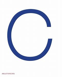blue letter c letter fonts pictures to pin on pinterest With blue alphabet letters