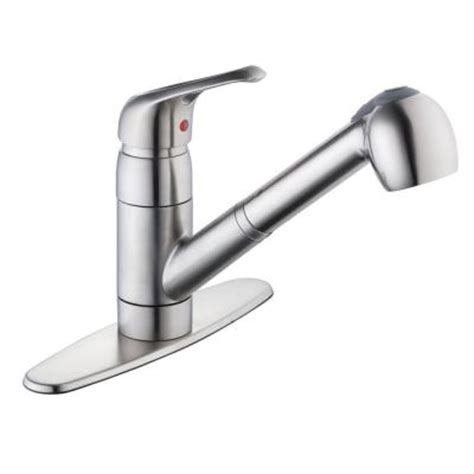 Glacier Bay Faucet Replacement Handles by Glacier Bay 825 Series Single Handle Pull Out Sprayer