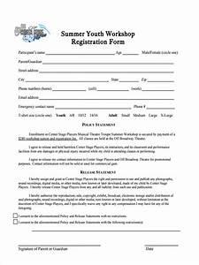 10 workshop registration forms free sample example With sample workshop registration form template