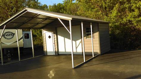 Building A Metal Carport utility carports metal carports with storage steel