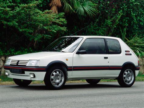peugeot cars images peugeot 205 gti specs 1984 1985 1986 1987 1988 1989