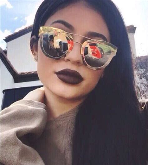 Sunglasses Kylie Jenner Kylie Jenner I Think She S So Pretty Love Her Makeup