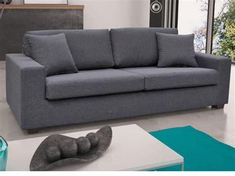 canapé et fauteuils canapé et fauteuil en tissu gris caramel noir yudo