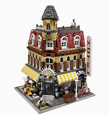 Dag's Bricks Lego Techniques  Building A Cafe Corner 10182