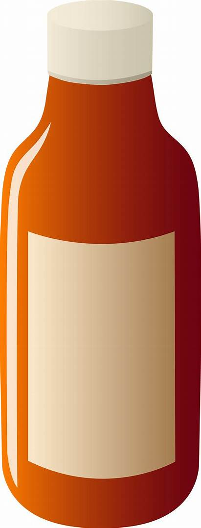 Blank Label Clipart Bottle Clip Transparent Sweet