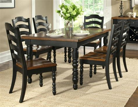Six Chair Dining Table Cheap Black Dining Room Chairs
