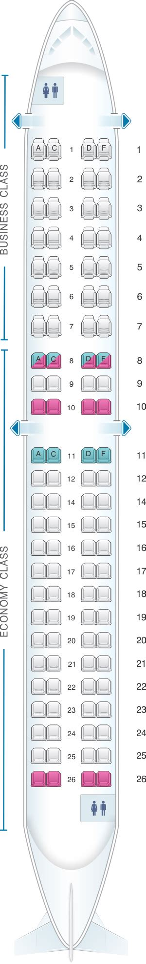 plan siege air plan de cabine air embraer 190 seatmaestro fr