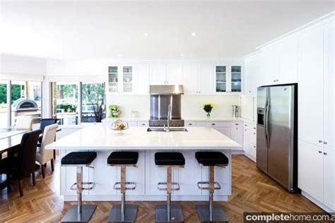 kitchen island hoods a fresh htons style kitchen design completehome