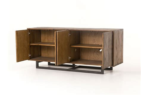 72 Inch Sideboard by Otb Reclaimed Pine Iron 72 Inch Sideboard Living Spaces