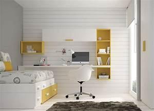 Etagere Pour Bureau : bureau enfant avec etagere bureau fille ikea lepolyglotte ~ Teatrodelosmanantiales.com Idées de Décoration