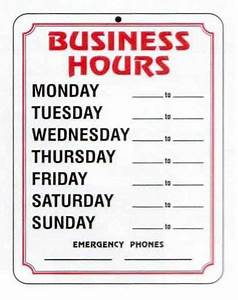 Office hours template free cheaphphosting Choice Image