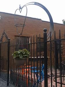 Metal Building Home Designs Plant Hangers Wrought Iron Railing Iron Railing Plant