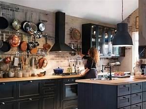 Nos idees decoration pour la cuisine elle decoration for Idee deco cuisine avec cuisine Équipée scandinave
