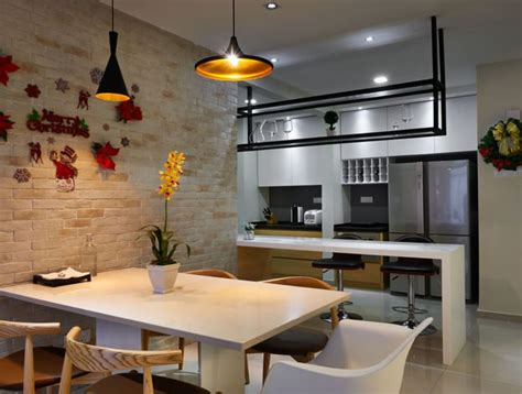 Kitchen Living Room Divider Ideas - 17 home makeover ideas found in malaysia