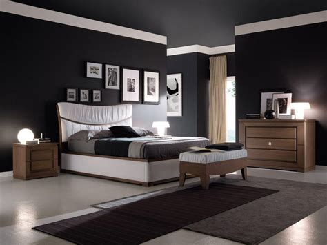 Black Bedroom Wall by Modern Black Wall Ideas For Your Home 15 Next House
