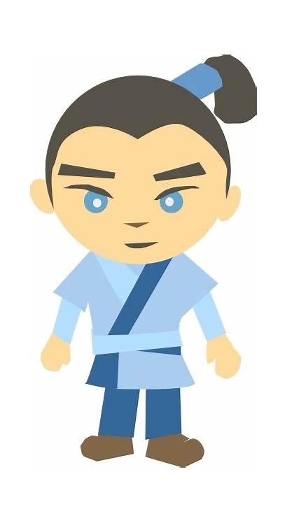 Vector Japanese Clip Character Karate Svg Graphic