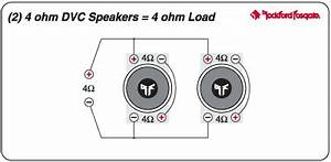 jbl mono amp with 2 subs With dvc 4 ohm subs to 2 channel as well wire 1 dual voice coil subwoofer 4