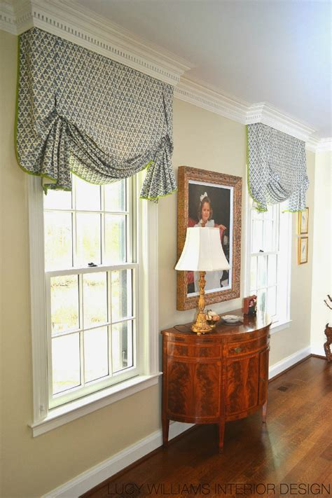 Window Treatments by Williams Interior Design Before And After