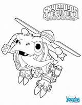 Skylanders Coloring Happy Trigger Jayden Knight sketch template