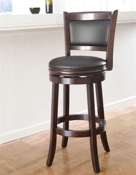 30 Inch Swivel Bar Stools With Back by Best 25 Wooden Swivel Bar Stools Ideas On
