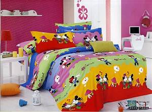 Mickey And Minnie Mouse Bedding Cover Bedding Mickey And
