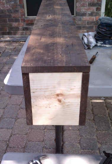 how to make a fireplace mantel turn inexpensive lumber into a mantel that looks like a