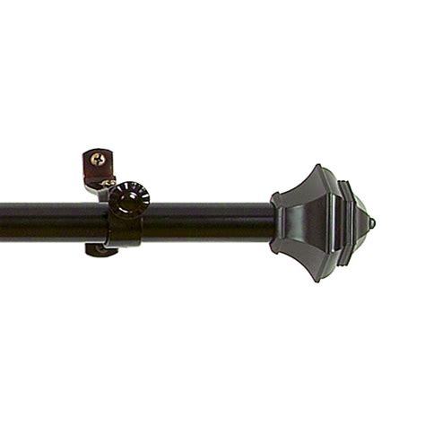 telescoping curtain rod kit buono ii telescoping curtain rod kit rdjnmh2848