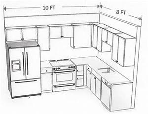 10 x 8 kitchen layout - Google Search Similar layout with