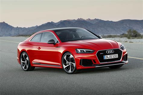 2017 Audi Rs 5 Coupe Coming This Summer, Boasts 444bhp