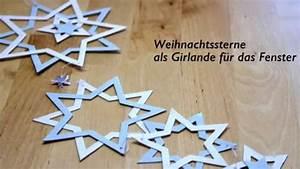 Sterne Weihnachten Basteln : sterne basteln anleitung basteln f r weihnachten youtube ~ Watch28wear.com Haus und Dekorationen