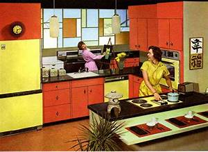 mcm porn kitsch o rama kitchens modern bear With kitchen colors with white cabinets with mid century metal wall art