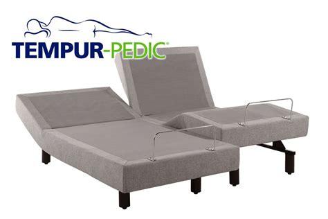 adjustable tempur pedic bed tempurpedic elite ergo