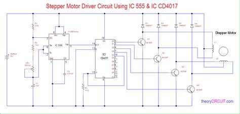 timer stepper motor controller circuit