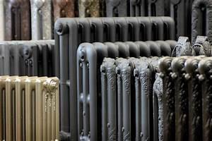 Vieux Radiateur En Fonte : recyclage de vieux radiateurs voir vert le portail du b timent durable au qu bec ~ Nature-et-papiers.com Idées de Décoration