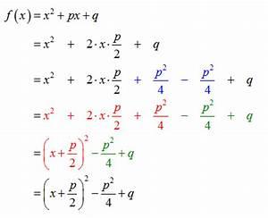 Quadratische Funktion Berechnen : quadratische funktionen normalform in scheitelpunktform ~ Themetempest.com Abrechnung