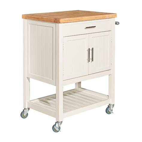 powell furniture sydney white kitchen cart  classy home