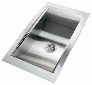 gv 34 inch stainless steel handmade kitchen sink top mount With 34 inch farmhouse sink