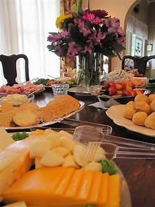 bridal brunch table display simple food ideas peacock With wedding shower food ideas pinterest