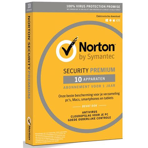 symantec keuken norton security premium 10 apparaten accessoires