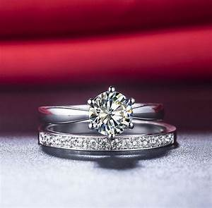 a ok 115ct bridal sets for women wedding fabulous With synthetic diamond wedding ring sets