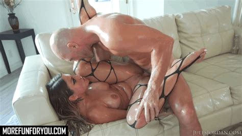 Cute Babe Kissa Sins Oiled Up And Fucked Morefunforyou