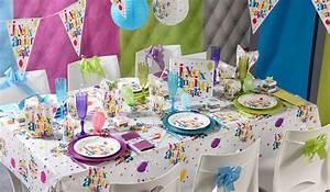 Deco Anniversaire 20 Ans Pas Cher : decoration fete pas cher ~ Melissatoandfro.com Idées de Décoration
