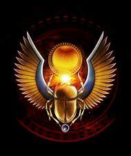 Egyptian Scarab Beetle God
