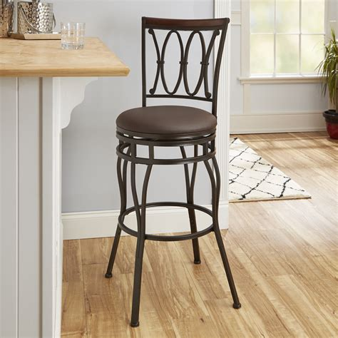 Better Homes And Gardens Adjustable Barstool, Oil Rubbed
