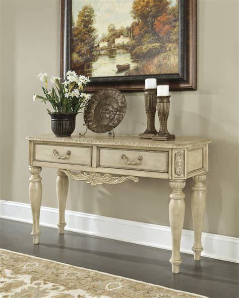 Ashley Ortanique Sofa Table Ashley-t707-4 At Homelement.com
