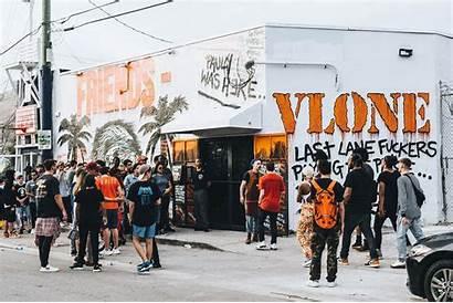 Vlone Miami Basel Pop Mob Wallpapers Hypebeast