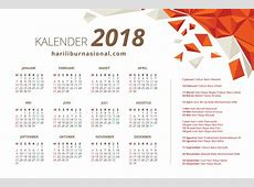 Kalender 2018 Hari Libur Nasional