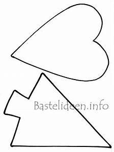 Weihnachtsbaum Basteln Vorlage : weihnachtsbasteln bastelvorlagen weihnachtsbaum und herz ~ Eleganceandgraceweddings.com Haus und Dekorationen