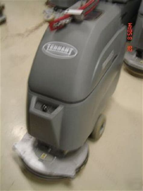 nobles tennant 5300t 20inch floor scrubber